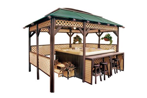 Cal Design Lattice Gazebo Serving Spokane And Coeur D