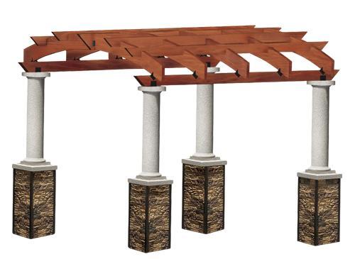 Cal Design VA200 Villa / Pergola - Cal Design Villa / Pergola VA200, Spokane WA & Coeur D'Alene ID