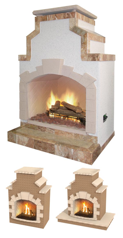Cal Flame Frp910 Outdoor Fireplace Spokane Wa And Coeur D 39 Alene