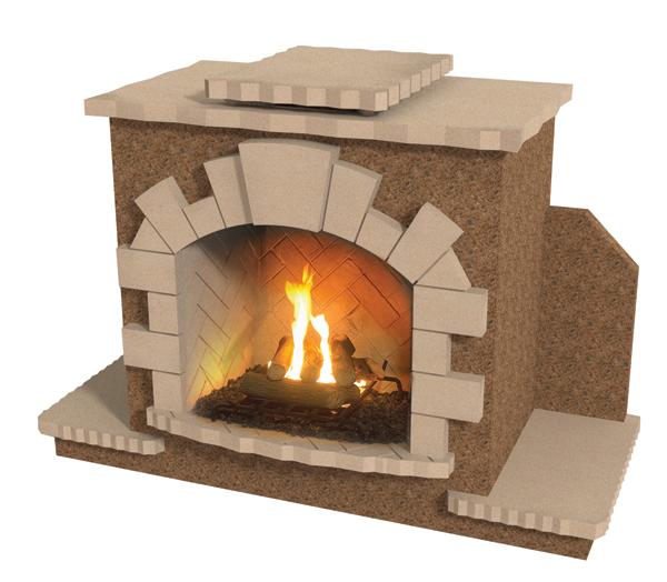 Cal Flame Frp914 Outdoor Fireplace Spokane Wa And Coeur D 39 Alene