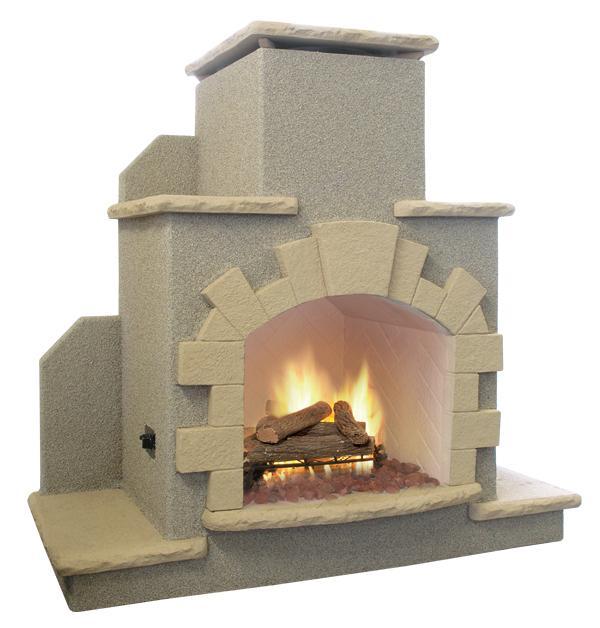 Cal Flame Frp915 Outdoor Fireplace Spokane Wa And Coeur D 39 Alene