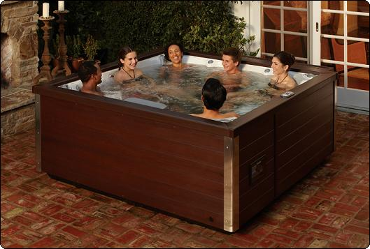 Jacuzzi Hot Tubs J-LX Series, the most energy efficient spas built.