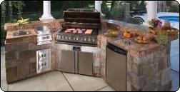 Barbecue Islands, Outdoor Kitchens