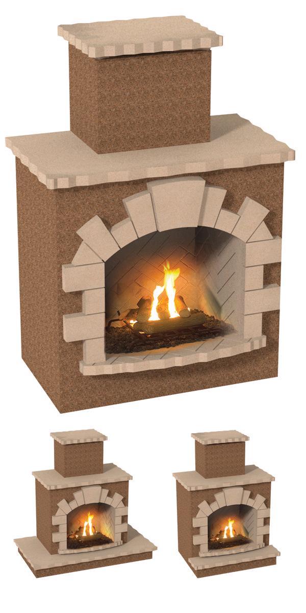Cal Flame Frp907 Outdoor Fireplace Spokane Wa And Coeur D 39 Alene