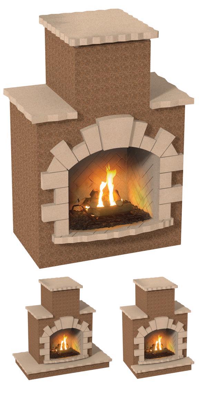 Cal Flame Frp908 Outdoor Fireplace Spokane Wa And Coeur D 39 Alene