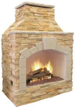 Cal Flame Frp909 Outdoor Fireplace Spokane Wa And Coeur D 39 Alene